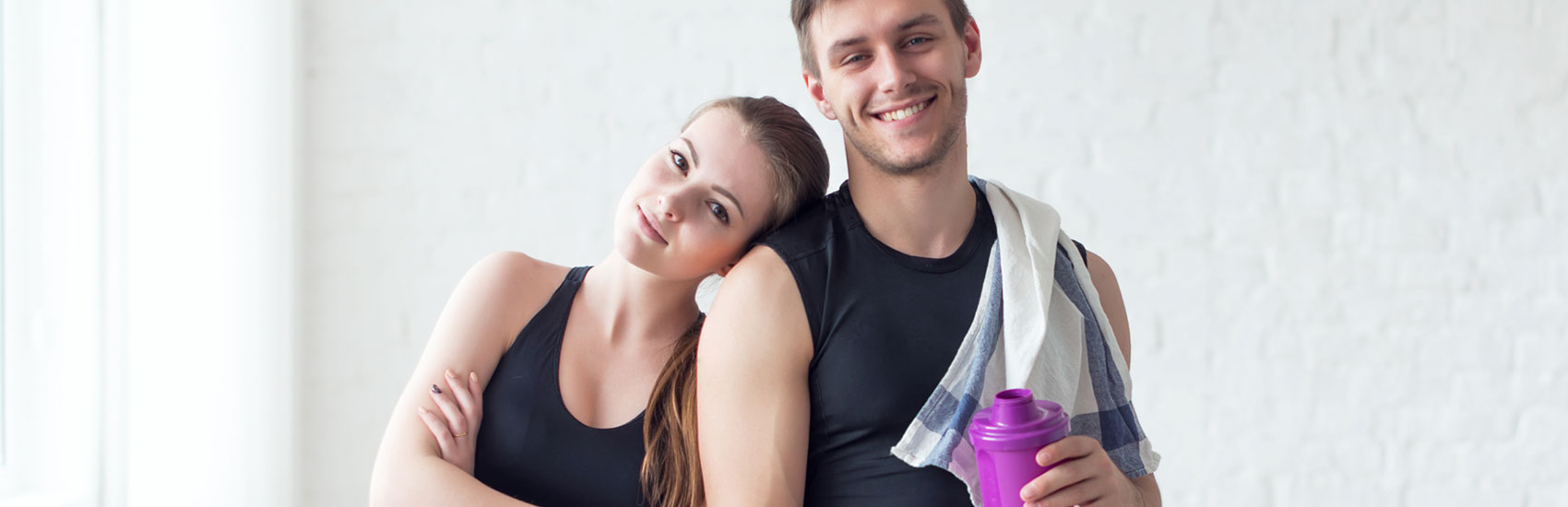 Protein Shakes- Couple Fitness